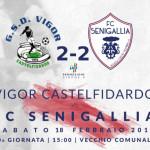 Vigor Castelfidardo-Fc Senigallia 2-2