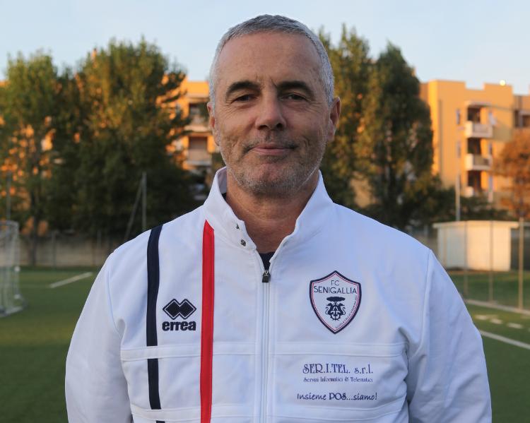 Gabriele Morganti, allenatore Fc Senigallia Juniores