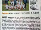 "Pulcini 2007 protagonisti al torneo ""Salvatore Aquilino"""
