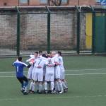 L'FC Vigor esulta dopo il gol di Alessandroni