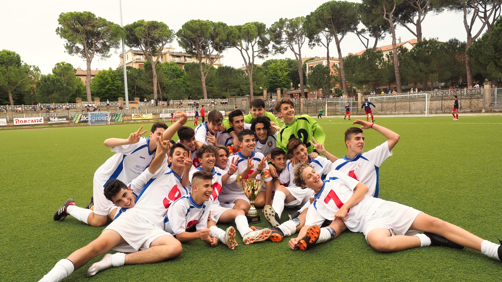 Giovanissimi Regionali campioni 2017-2018