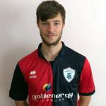 Mirko Falcinelli con la nuova maglia della FC Vigor Senigallia