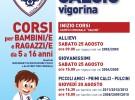 Scuola Calcio Vigorina, dal 25 agosto ripartono i corsi estivi