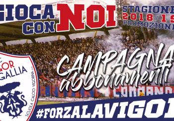 Prosegue a pieno regime la campagna abbonamenti dell'FC Vigor. In arrivo domenica la prima gara in casa