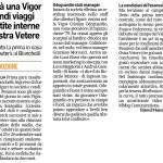 FC Vigor, articolo R. Mancinelli su gare casalinghe, Odoguardio e Rossi e Pesaresi