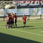 FC Vigor, esultanza gol di Giobellina