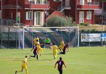 L'Fc Vigor inizia con un pareggio: 1 a 1 sul campo del Valfoglia