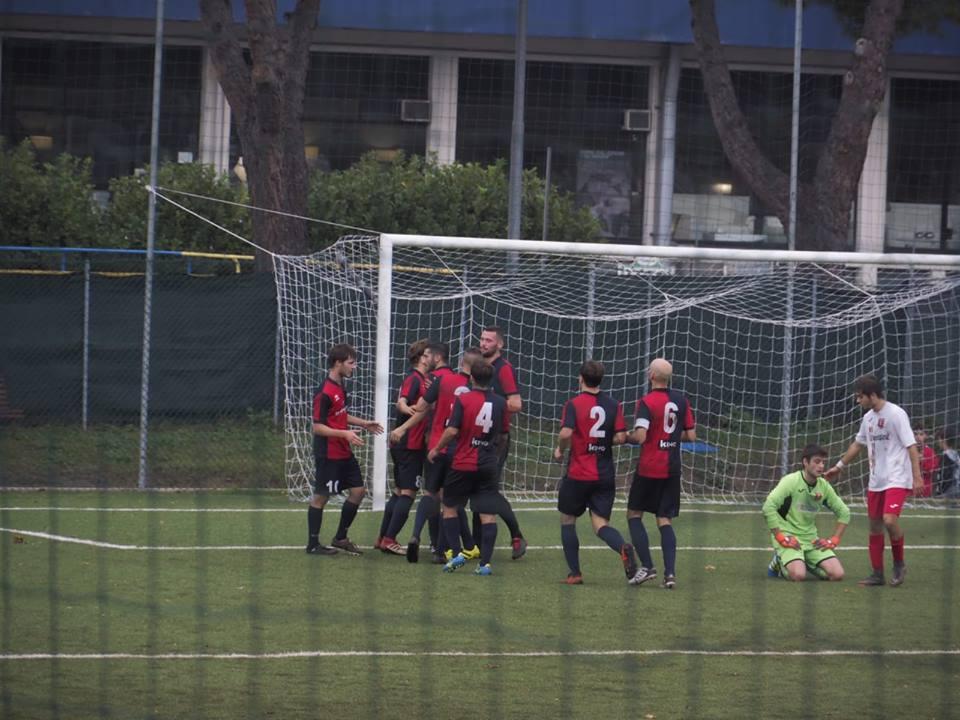 Una recente esultanza dell'FC Vigor Senigallia