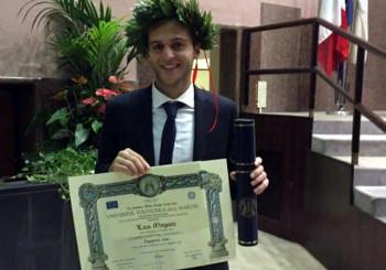 Luca Morganti si laurea in ingegneria civile con 110 e lode! Congratulazioni da tutta l'FC Vigor Senigallia