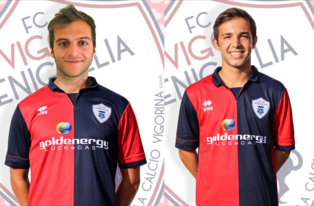 Morganti e Gresta, gli autori dei gol rossoblu