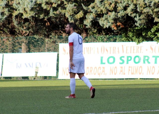Nicola Vitali, capitano dell'FC Vigor Senigallia