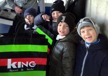 I giovani del vivaio rossoblu protagonisti dell'estrazione promossa da King Sport&Style