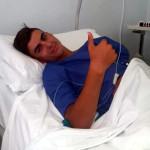 Arsendi operato al menisco