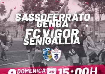 Alla ricerca della continuità: domenica, la Vigor fa visita al Sassoferrato (ore 15)