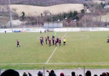 Pari e patta a Sassoferrato per la Vigor: 1-1 grazie alla rete di Pesaresi