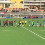 Vigor Senigallia-.Marina, le squadre prima del calcio d'inizio