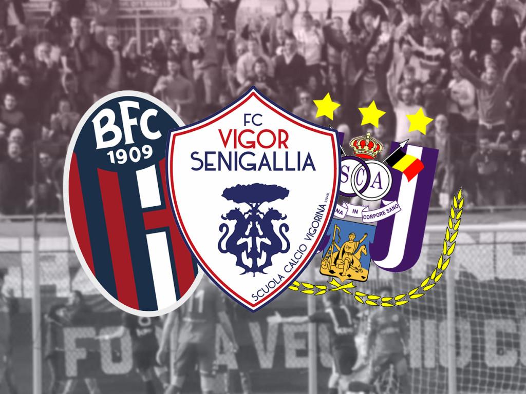 Vigor Senigallia, Anderlecht e Bologna