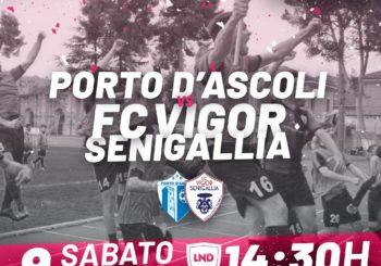 Sabato visita al Porto d'Ascoli per la Vigor Senigallia (ore 14,30)