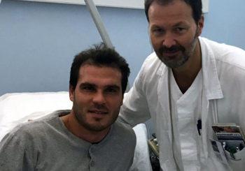 Argentati operato al ginocchio dal Dottor Moschini. In bocca al lupo Andrea!