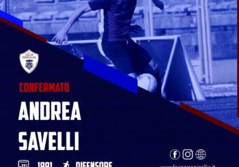 Notizia fantastica: ha firmato anche Savelli