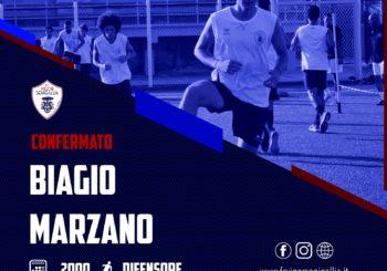 Conferma 10 e lode: Biagio Marzano