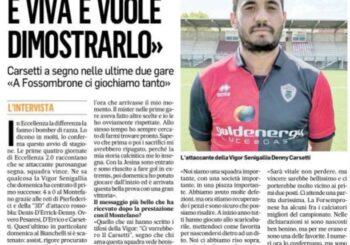 """Carsetti al Corriere: """"Messaggio stupendo dei tifosi. E ora tutti devono temere la Vigor"""""""