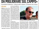 """Federiconi al Corriere Adriatico: """"La Vigor è sana, nonostante la pandemia"""""""