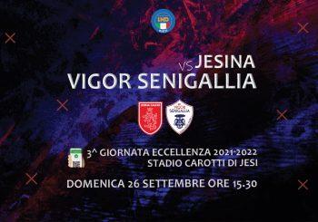 Che derby sia: domenica c'è Jesina-Vigor alle 15,30. Arrivederci al nostro Biagio Marzano!